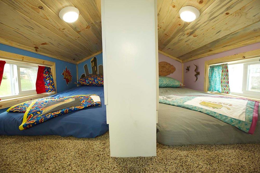 Split Room Loft - Brown Bear by Alpine Tiny Homes