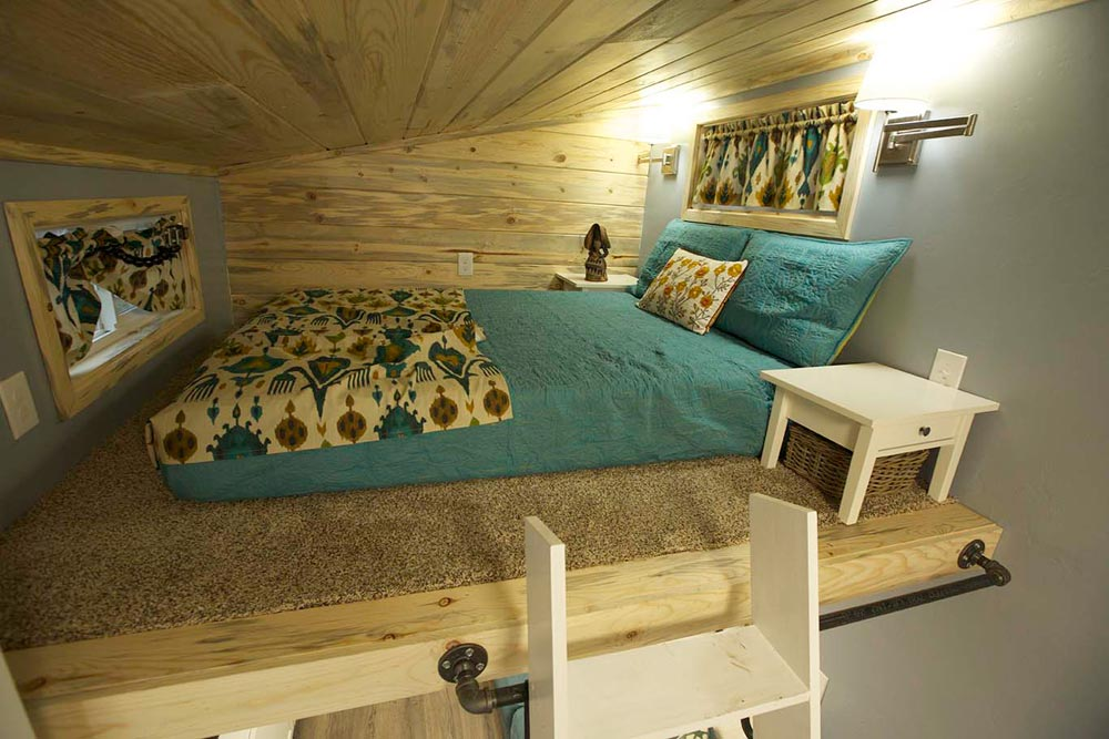 Bedroom Loft - Brown Bear by Alpine Tiny Homes