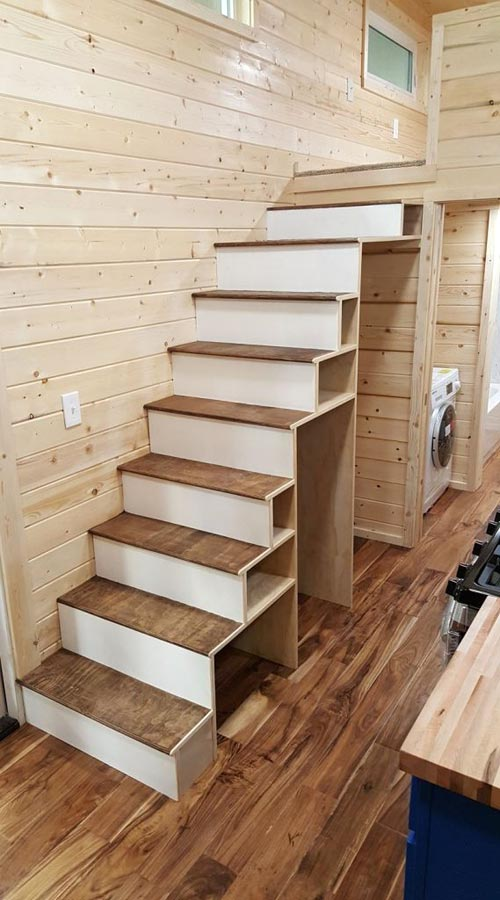 Storage Stairs - Big Chill by Alpine Tiny Homes