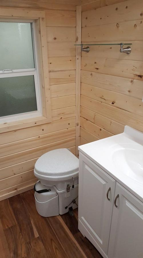 Separett Composting Toilet - Big Chill by Alpine Tiny Homes