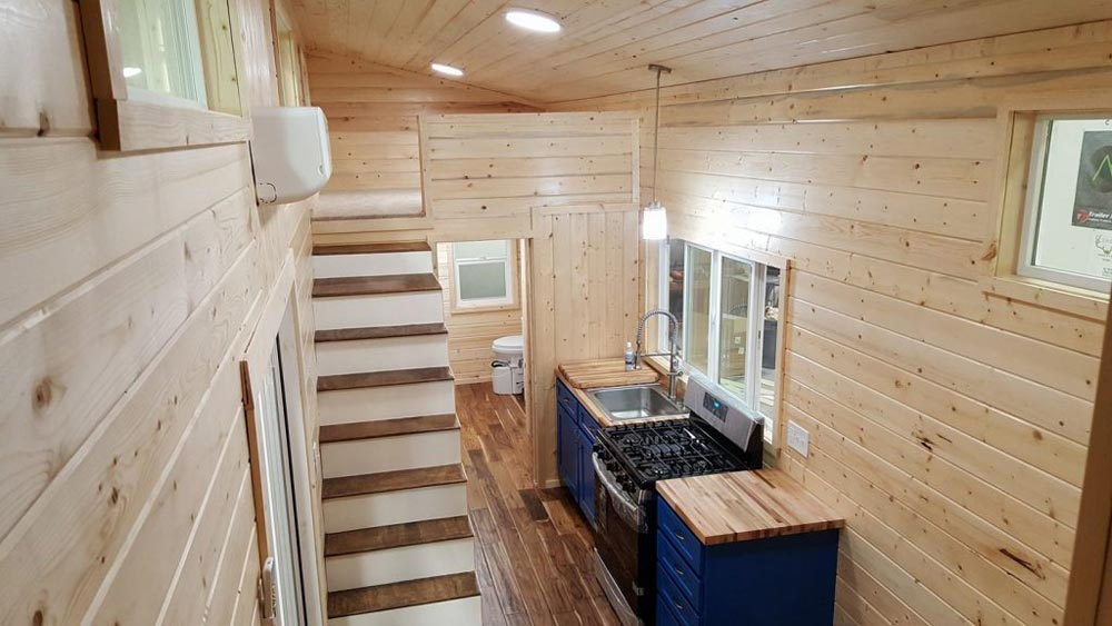 Tiny House Interior - Big Chill by Alpine Tiny Homes