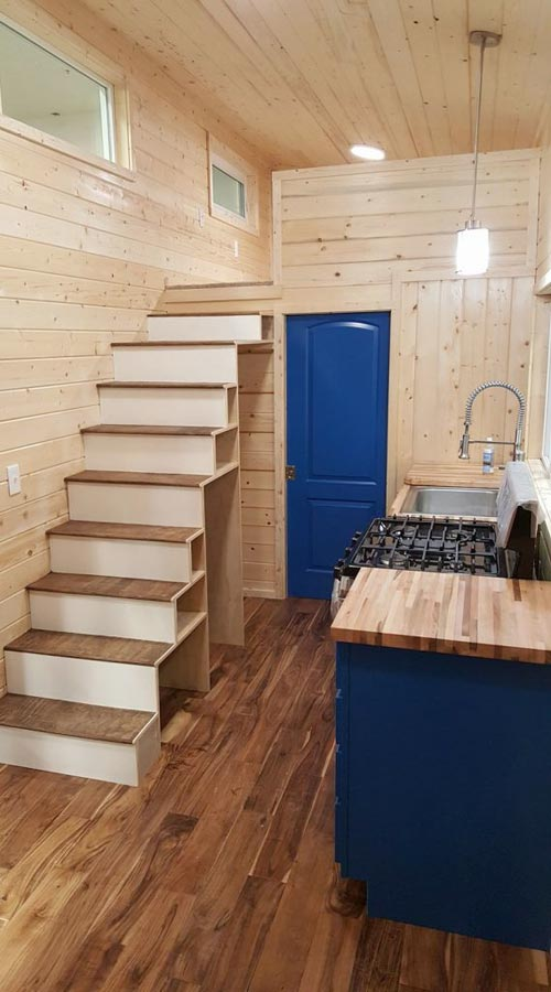 Kitchen & Storage Stairs - Big Chill by Alpine Tiny Homes