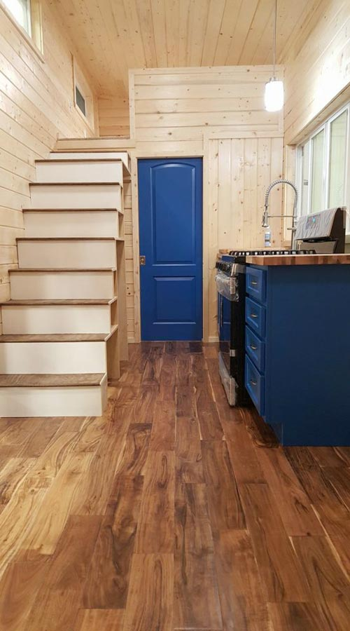 Engineered Hardwood Floors - Big Chill by Alpine Tiny Homes