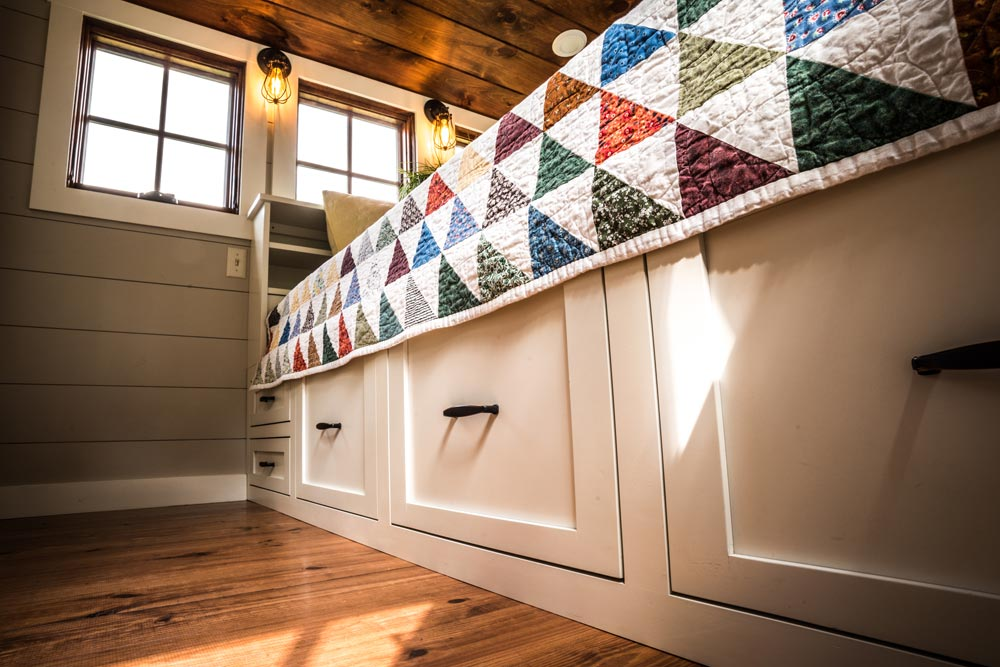 Under Bed Storage - Denali by Timbercraft Tiny Homes