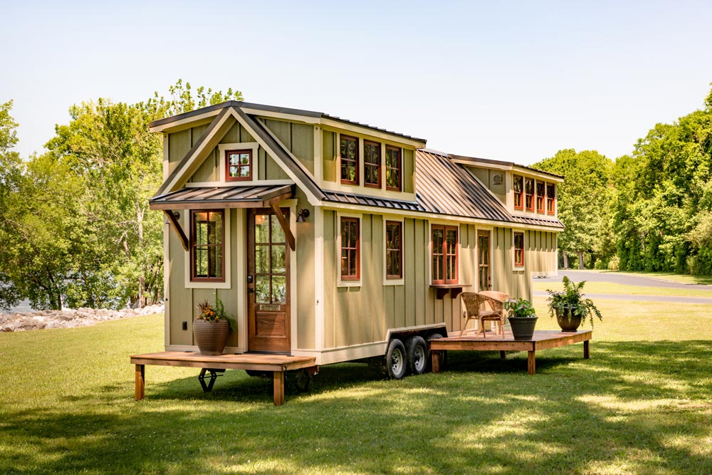 denali by timbercraft tiny homes tiny living. Black Bedroom Furniture Sets. Home Design Ideas