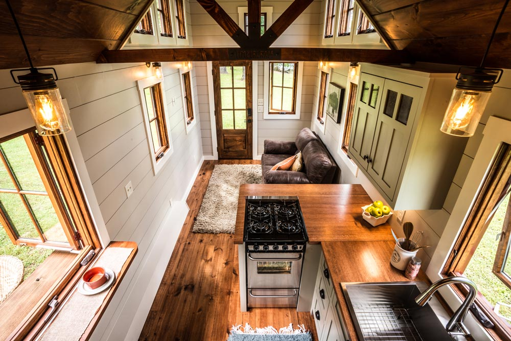 Aerial View - Denali by Timbercraft Tiny Homes