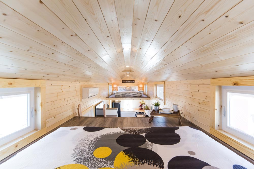 View From Loft - Mansion Elite by Uncharted Tiny Homes
