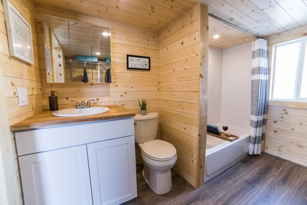 Sink & Toilet - Mansion Elite by Uncharted Tiny Homes