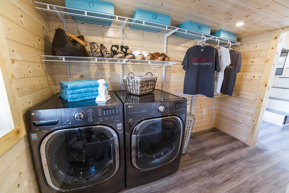 Side-By-Side Washer/Dryer - Mansion Elite by Uncharted Tiny Homes
