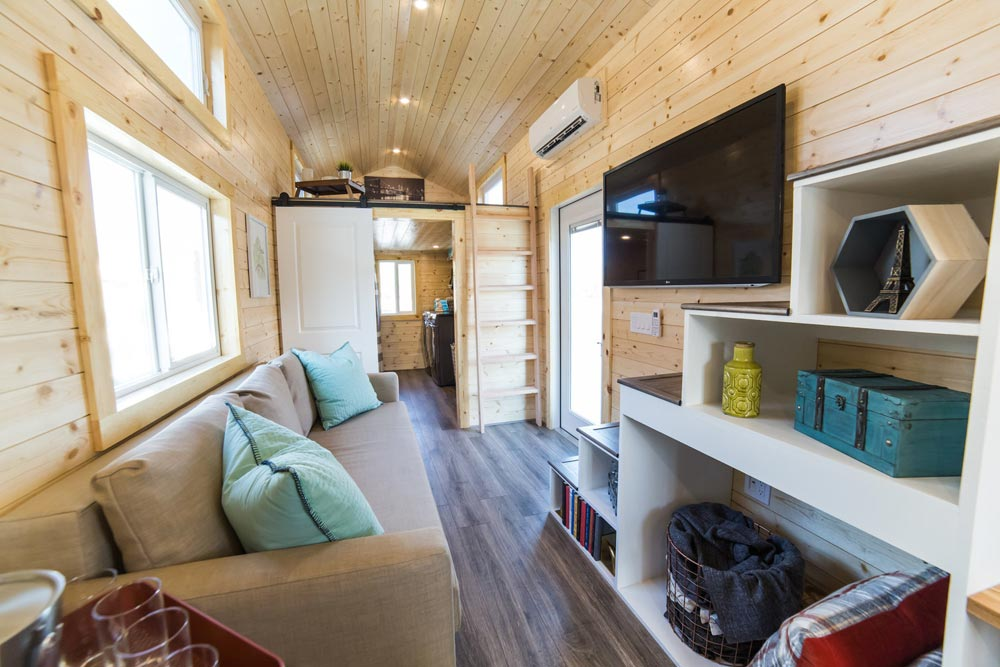 Couch & TV - Mansion Elite by Uncharted Tiny Homes