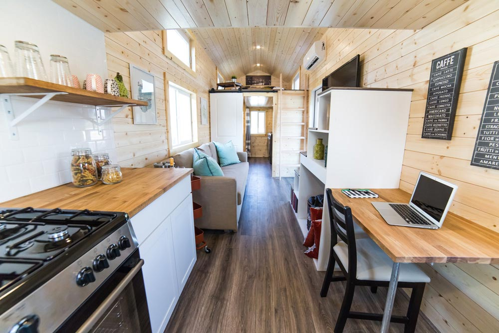 View From Kitchen - Mansion Elite by Uncharted Tiny Homes