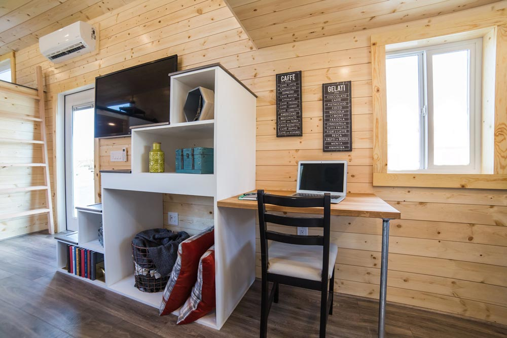 Desk & Chair - Mansion Elite by Uncharted Tiny Homes