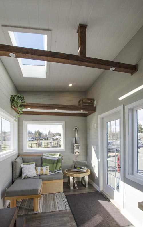 Open Beams - Fox Sparrow by Rewild Homes