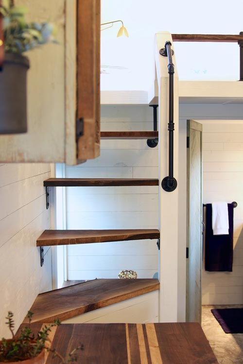 Loft Stairs - Tiny Getaway by Handcrafted Movement