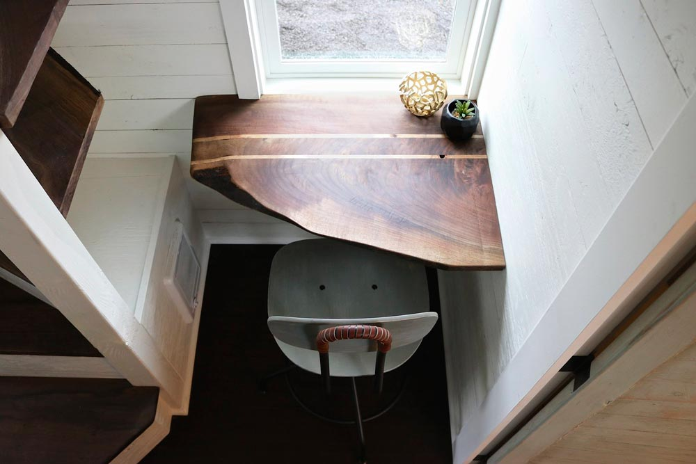 Walnut Desk - Tiny Getaway by Handcrafted Movement