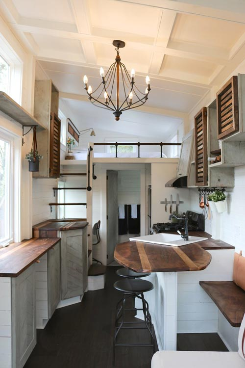 Kitchen & Loft - Tiny Getaway by Handcrafted Movement