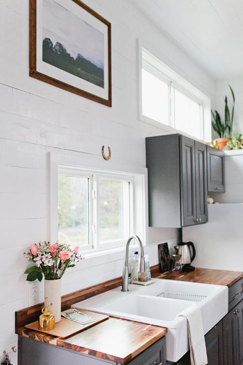 Butcher Block Counters - Golden by American Tiny House