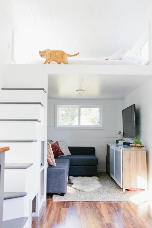 Living Room - Golden by American Tiny House