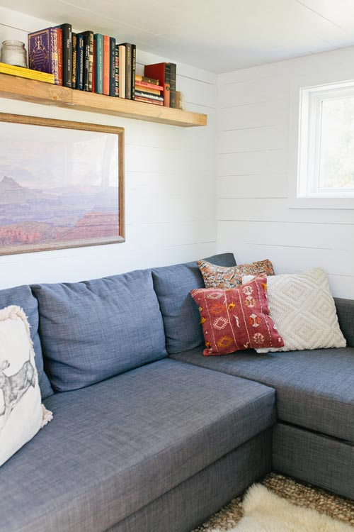 Fold Out Couch - Golden by American Tiny House