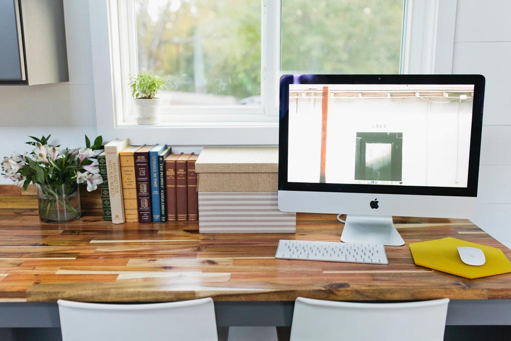 Desk - Golden by American Tiny House