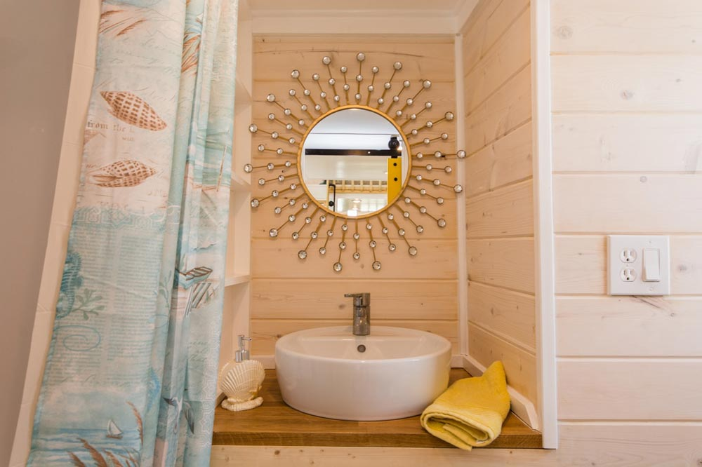 Bathroom Sink - Yellow Lifeguard by Upper Valley Tiny Homes