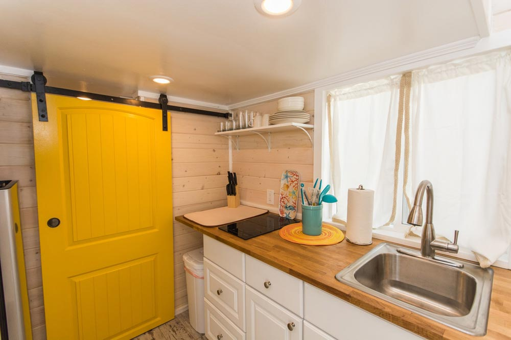 Kitchen Counter - Yellow Lifeguard by Upper Valley Tiny Homes