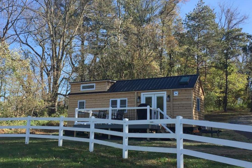 Modern Farmhouse Take Three by Liberation Tiny Homes