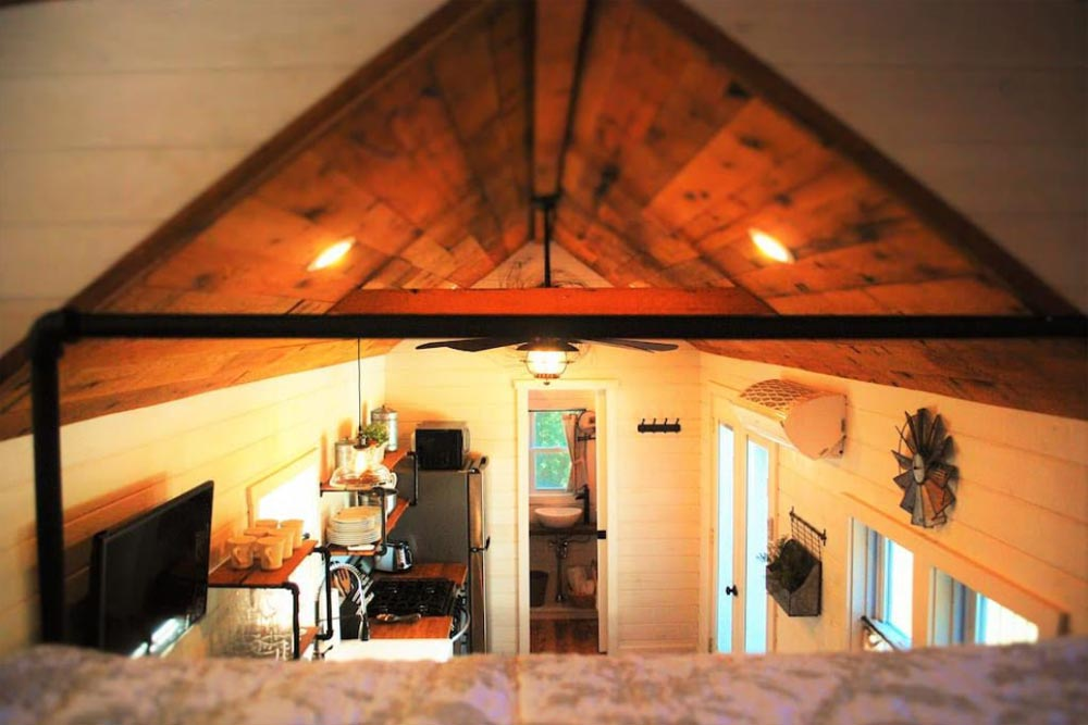 View From Loft - Modern Farmhouse Take Three by Liberation Tiny Homes