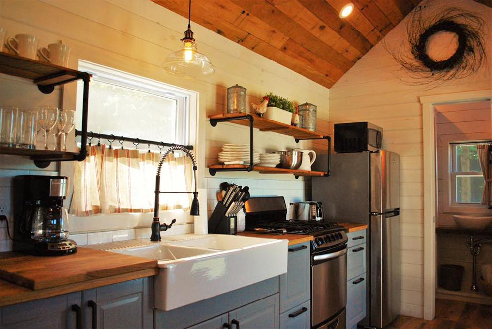 Farmhouse Sink - Modern Farmhouse Take Three by Liberation Tiny Homes