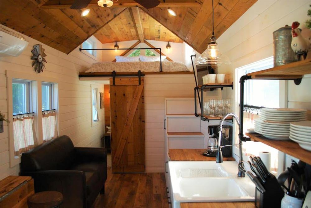 Living Area - Modern Farmhouse Take Three by Liberation Tiny Homes