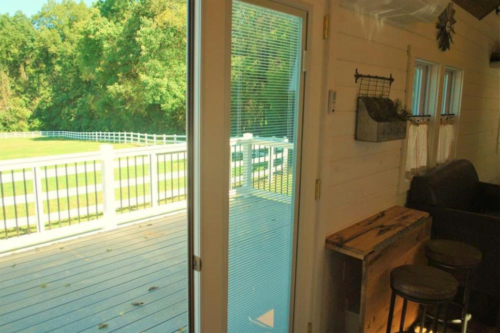 French Doors - Modern Farmhouse Take Three by Liberation Tiny Homes