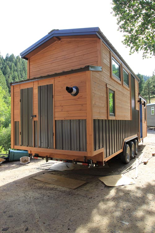 Tiny House Exterior - Monarch by SimBLISSity