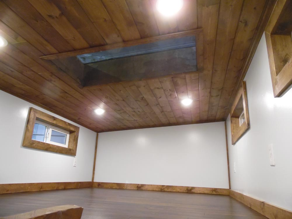 Bedroom Loft w/ Skylight - 27' Off Grid by Upper Valley Tiny Homes