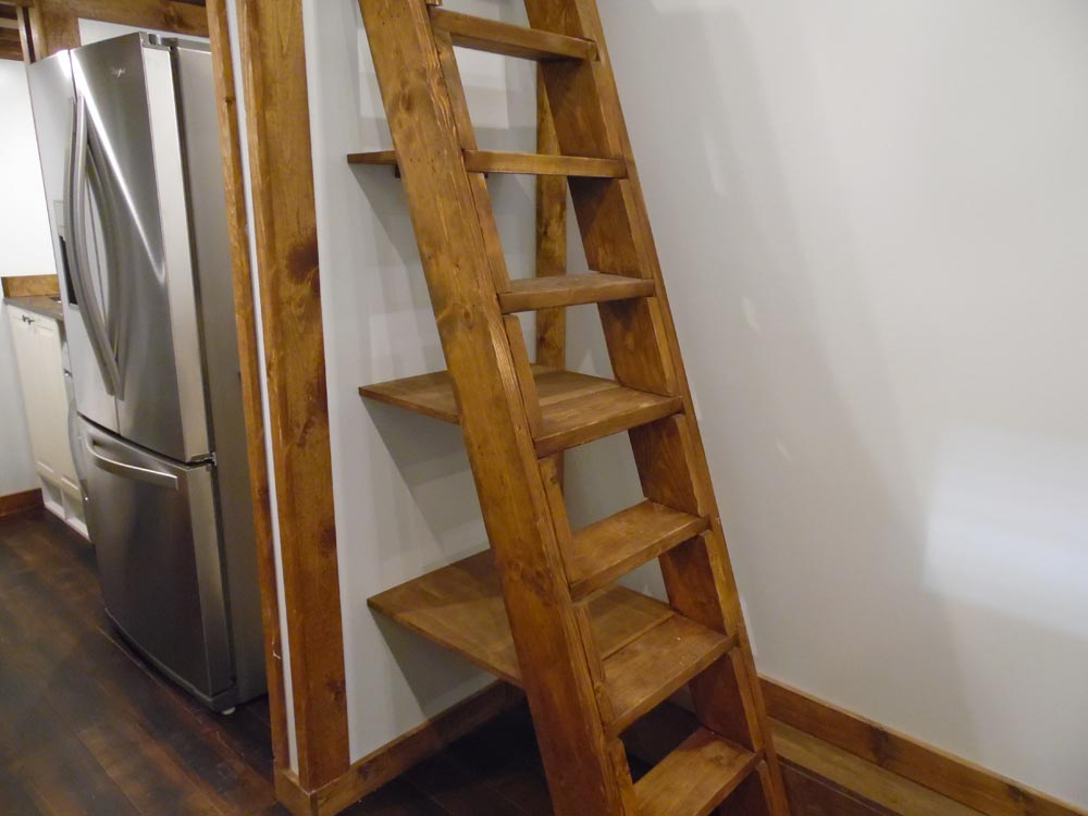 Loft Ladder - 27' Off Grid by Upper Valley Tiny Homes