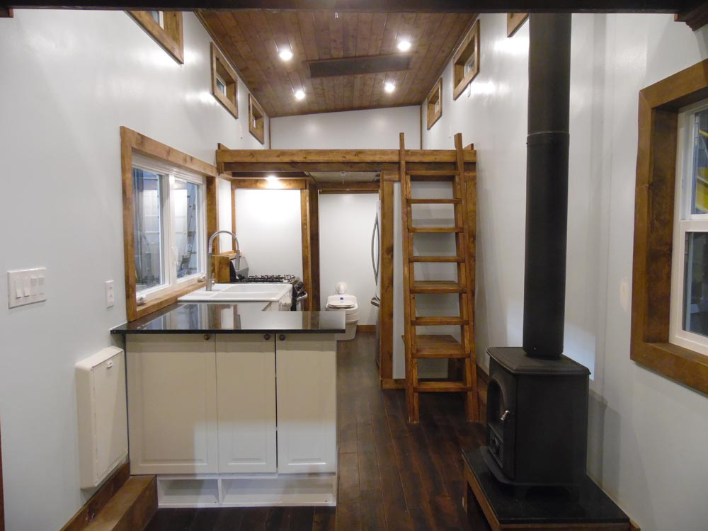 Tiny House Interior - 27' Off Grid by Upper Valley Tiny Homes