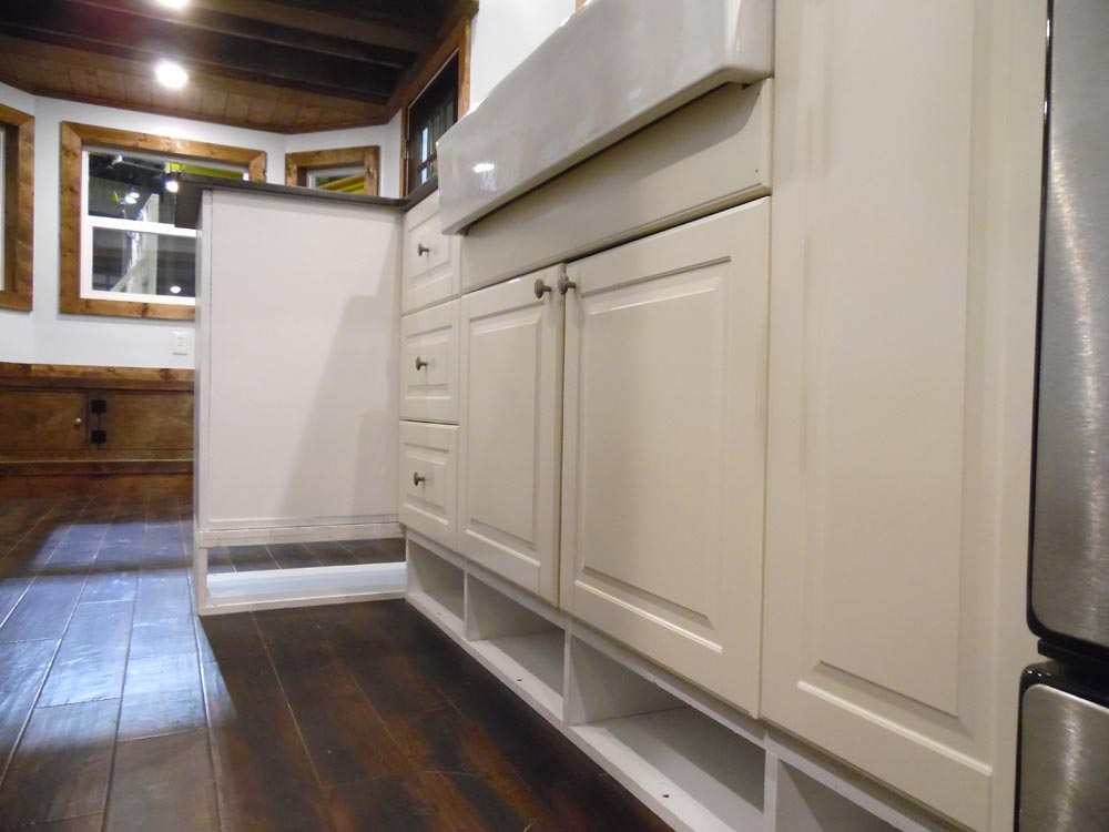 IKEA Cabinets - 27' Off Grid by Upper Valley Tiny Homes