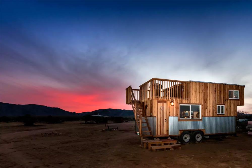 Tiny House Sunset - Peacock by Old Hippie Woodworking