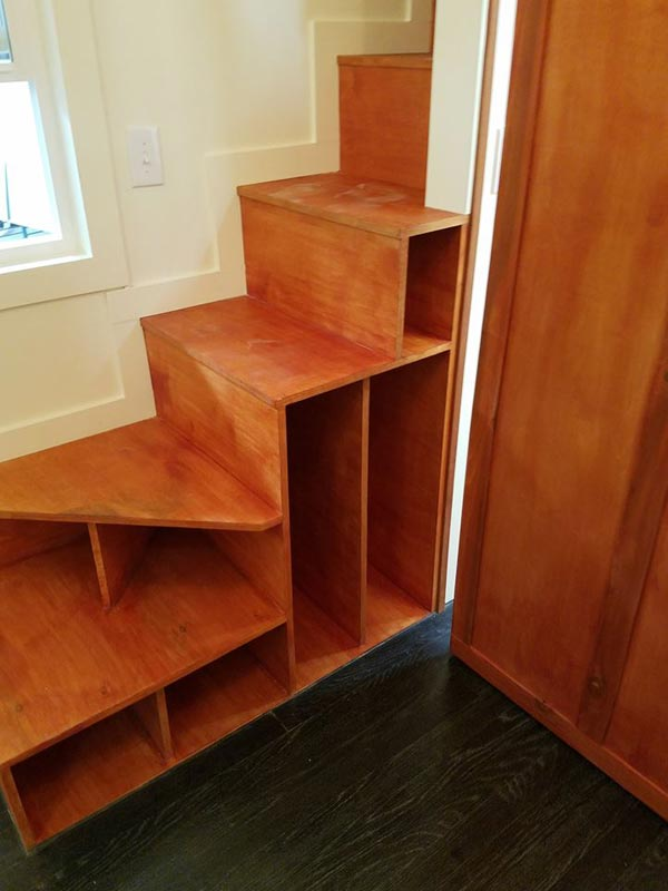 Storage Stairs - Reagan by Maximus Extreme Living Solutions