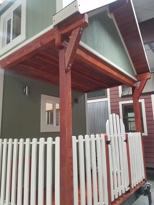 Tiny House Deck - Reagan by Maximus Extreme Living Solutions