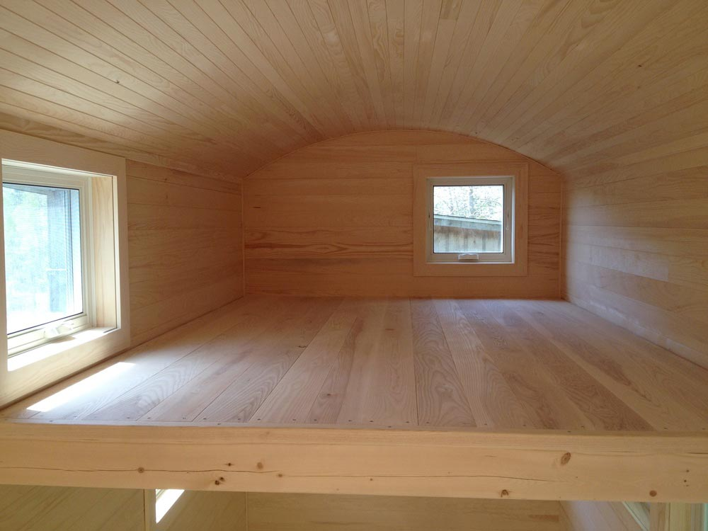 Bedroom Loft - Refuge House by Full Moon Tiny Shelters