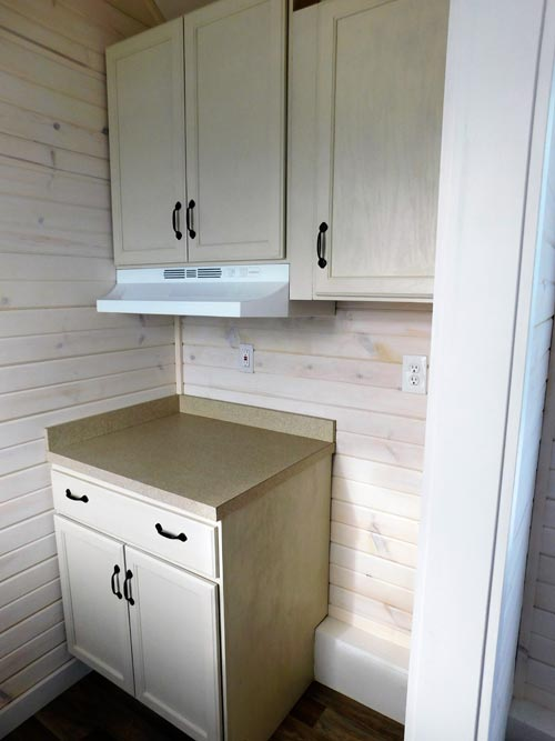 Kitchen Cabinets - Little Shack Out Back by Tiny Idahomes