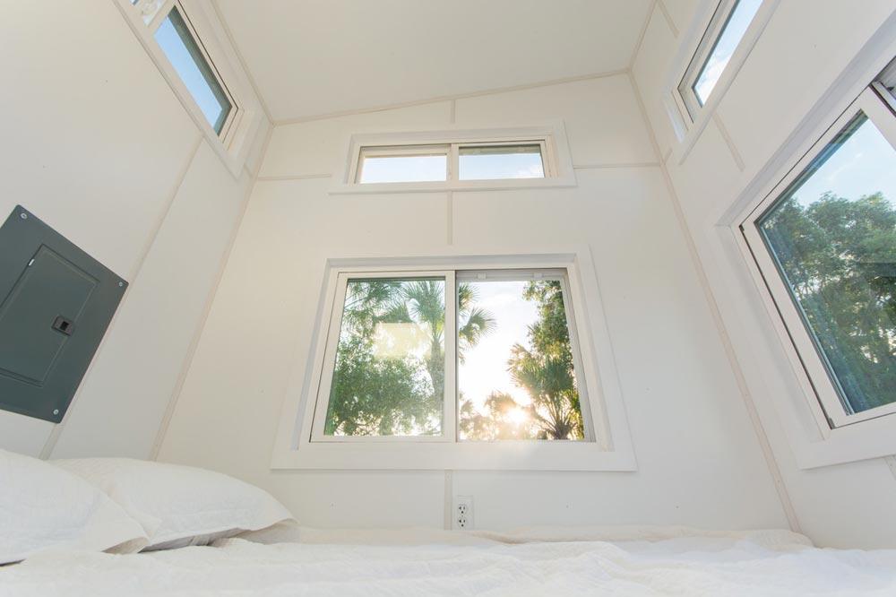Main Floor Master Bedroom - Aqua Oasis by Modern Tiny Living