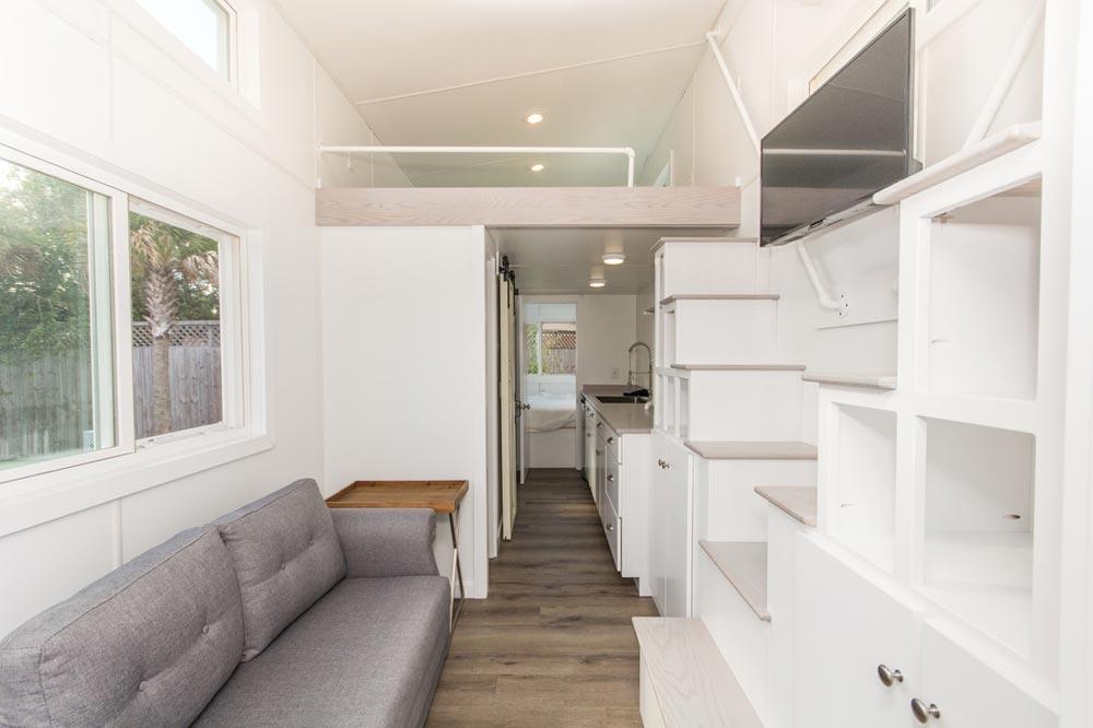 Living Area - Aqua Oasis by Modern Tiny Living