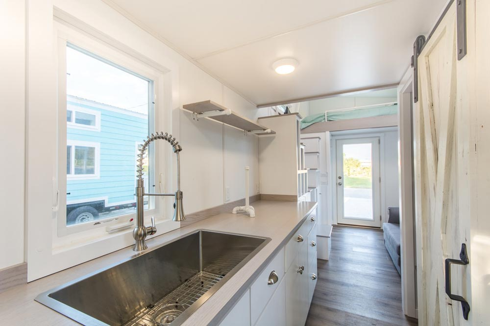 Kitchen with Deep Sink - Aqua Oasis by Modern Tiny Living