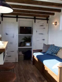 Living Area - Texas Tiny House by Tiny Heirloom