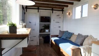 Living Area - Texas Tiny House by Tiny Heirloom