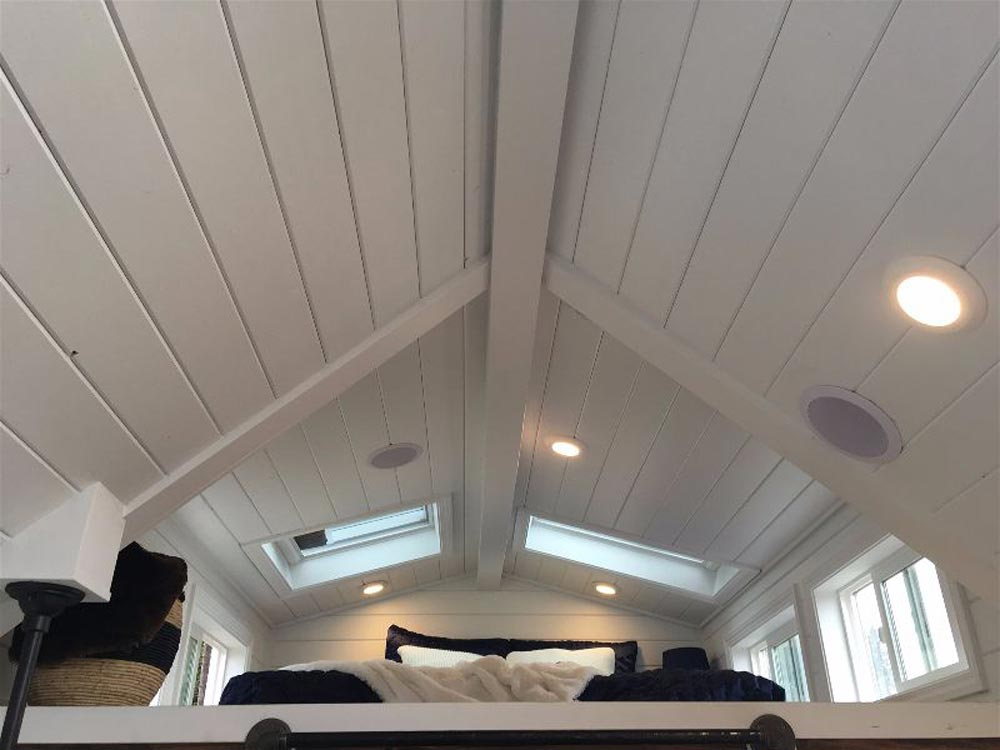 Ceiling Detail - Texas Tiny House by Tiny Heirloom