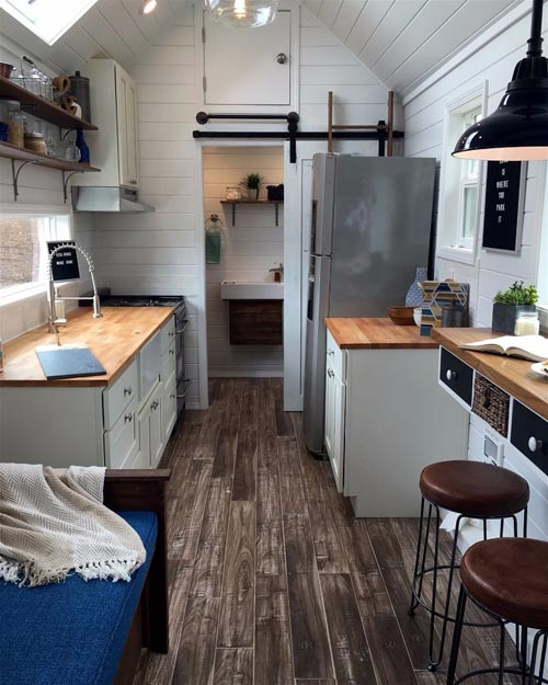 Kitchen - Texas Tiny House by Tiny Heirloom