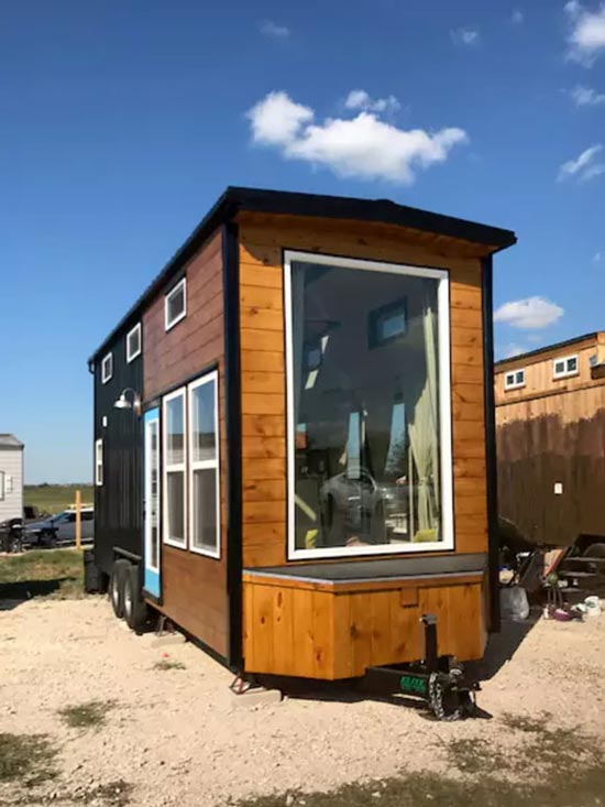 Tiny House Exterior - Texas Style by Incredible Tiny Homes