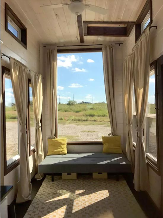 Living Room - Texas Style by Incredible Tiny Homes
